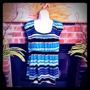3 for $20 AGB striped blouse women's size large